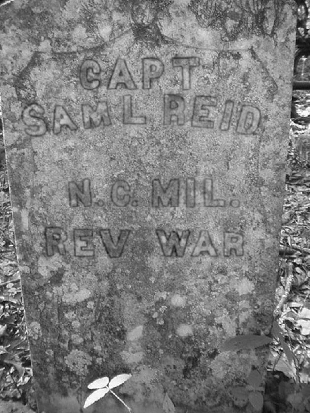 Captain Samuel Reid