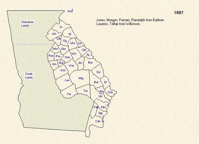 GA Counties 1807