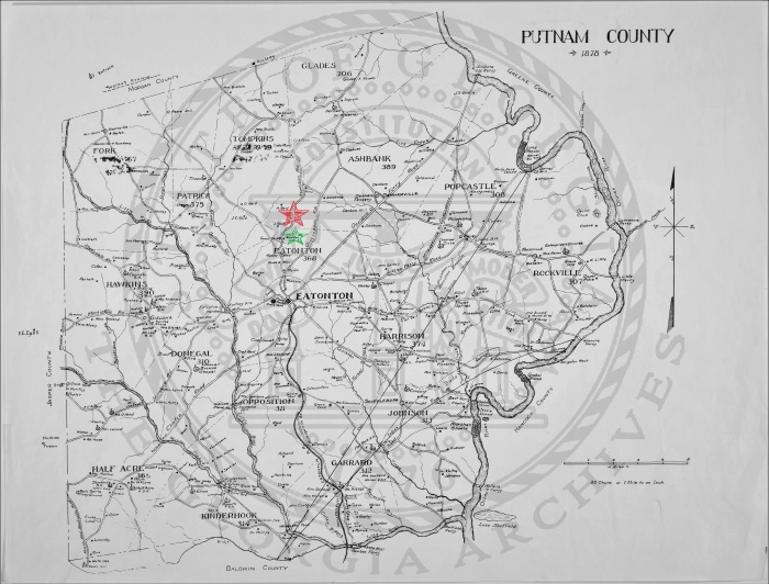 Map_of_Putnam_County 1850 - Maddoxes
