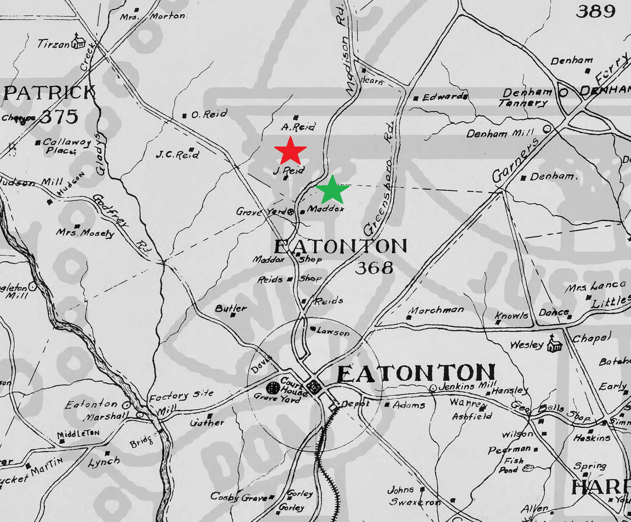 Map_of_Putnam_County 1878 - emp on Eatonton -Maddox