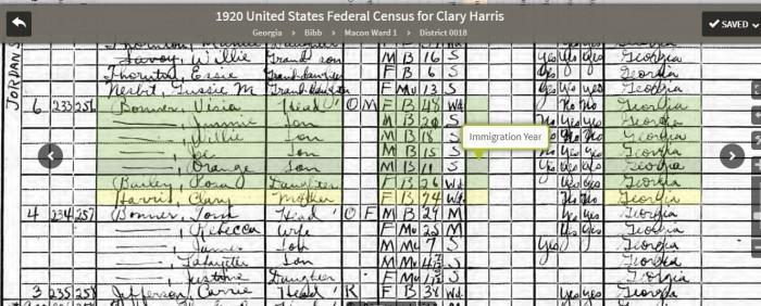 MY HANCOCK COUNTY And PUTNAM COUNTY GEORGIA ROOTS Irwin Sasnett - 1920 us census map for meriweather county georgia